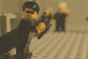 Το θρυλικό Matrix σε lego εκδοχή