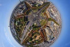 Σφαιρικές πόλεις, σα μικροί πλανήτες