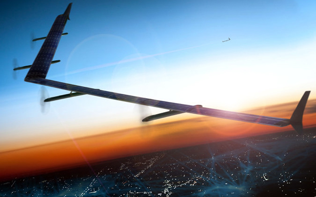 Aquila: Το drone που θα μεταφέρει το Facebook σε κάθε γωνιά της Γης