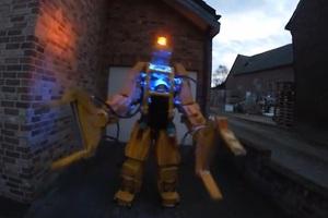 Ένα κοστούμι-ρομπότ για το μωρό