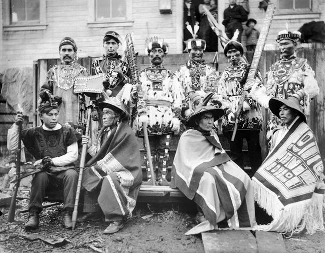 Η Βορειοδυτική Ακτή: οι Σινούκ