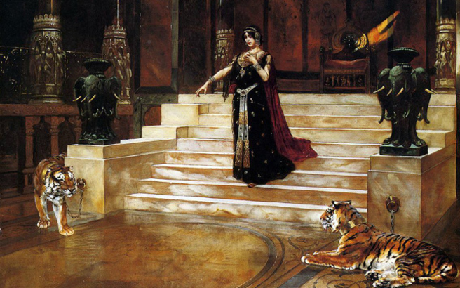 Η κολασμένη πλανεύτρα της Καινής Διαθήκης, Σαλώμη