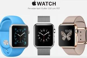 Στις 10 Απριλίου οι προπαραγγελίες για το Apple Watch