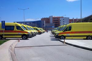 Νέα ασθενοφόρα στην περιφέρεια Ανατολικής Μακεδονίας και Θράκης