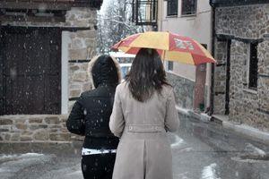 Ανοιξιάτικα χιόνια στην Πελοπόννησο