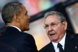 Συνάντηση Ομπάμα-Ραούλ Κάστρο στις ΗΠΑ