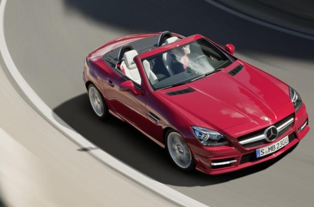 Μικρή ανανέωση για τη Mercedes SLK