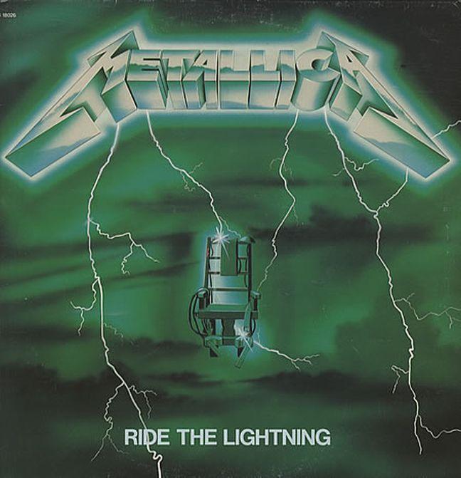Metallica - Ride the lightning Ride_the_Lightning_%28green%29