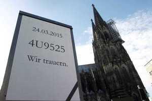 Φόρος τιμής για τα θύματα της τραγωδίας της Germanwings