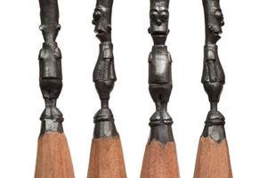 Γλυπτά σε μύτες μολυβιών