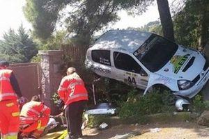 Ατύχημα σε ράλι στην Τοσκάνη
