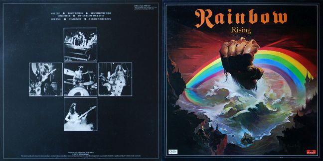 Rainbow - Rising Rising-outer-gatefold