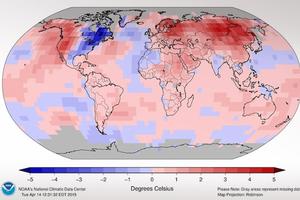 Ίσως η θερμότερη χρονιά στην ιστορία το 2015