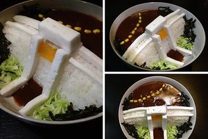 Φράγμα από... ρύζι