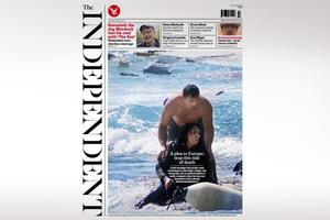 Η τραγωδία της Μεσογείου στο πρωτοσέλιδο του «Independent»