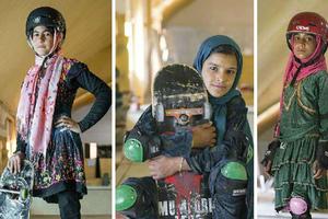 Κοριτσίστικη υπόθεση το skate στο Αφγανιστάν