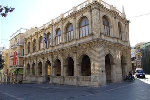 Σύσκεψη στον Δήμο Ηρακλείου για το θέμα των συμβασιούχων της καθαριότητας