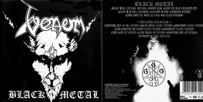 Venom - Black Metal Ven2