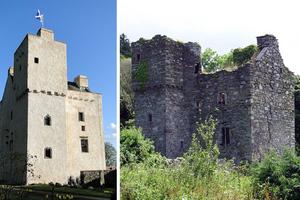 Μετέτρεψαν κάστρο έξι αιώνων σε σπίτι