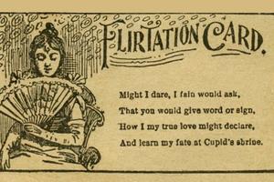 Πώς γινόταν το φλερτ τον 19ο αιώνα
