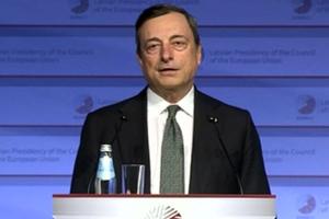 Ντράγκι: Είμαστε σε πολύ καλύτερη κατάσταση από τον Ιούνιο