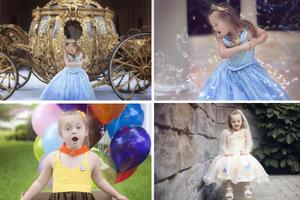 Η 4χρονη με σύνδρομο Down που βρήκε τον εαυτό της στις πριγκίπισσες της Disney