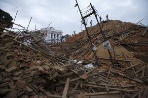 Χάος στο Νεπάλ από τον φονικό σεισμό