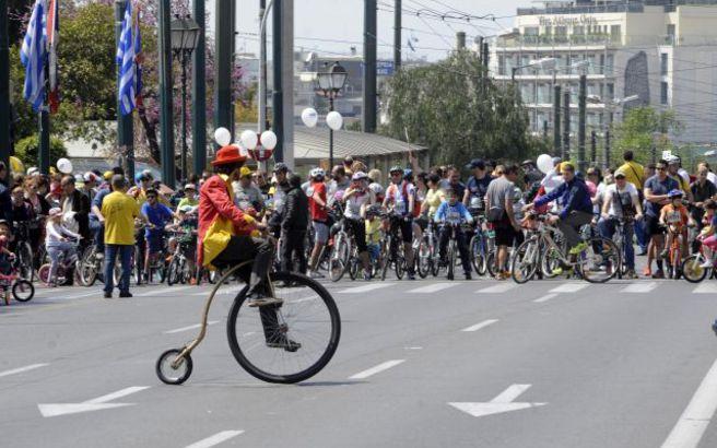 Κλείνει την Κυριακή το κέντρο της Αθήνας για τον Ποδηλατικό Γύρο