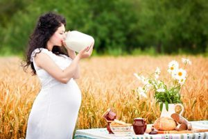 Το βιολογικό γάλα δεν είναι κατάλληλο για τις εγκύους