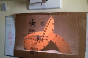 Κατασκευάζοντας μία πολυθρόνα από χαρτόνι