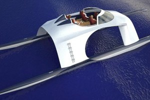 Ένα φουτουριστικό superyacht για χοντρά πορτοφόλια