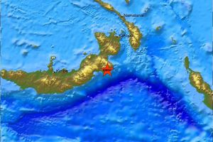 Σεισμική δόνηση 7,4 ρίχτερ στην Παπούα Νέα Γουινέα