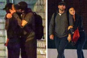 Τα καυτά φιλιά της Irina Shayk με νέο άντρα
