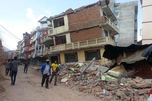 Βίντεο από την κατάρρευση κτιρίου στο Νεπάλ