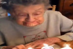 Το «ατύχημα» της γιαγιάς μπροστά στην τούρτα γενεθλίων