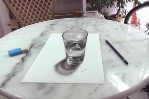 Η οφθαλμαπάτη με το ποτήρι