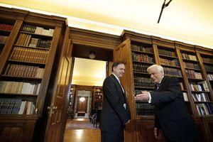 Τον Παναγιώτη Λιαργκόβα υποδέχθηκε ο Προκόπης Παυλόπουλος