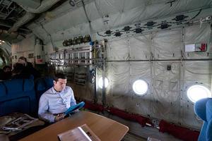 Φωτογραφίες από το «πρωθυπουργικό» C-130