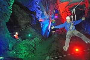 Το μεγαλύτερο υπόγειο σύστημα zip line στον κόσμο