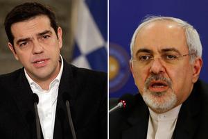 Συνάντηση Τσίπρα με τον ΥΠΕΞ του Ιράν