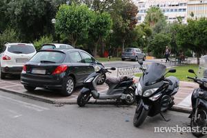 Απροσπέλαστα τα πεζοδρόμια στην Αθήνα
