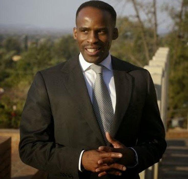 Ο Βασιλιάς Kgosi Leruo Molotlegi της Νότιας Αφρικής