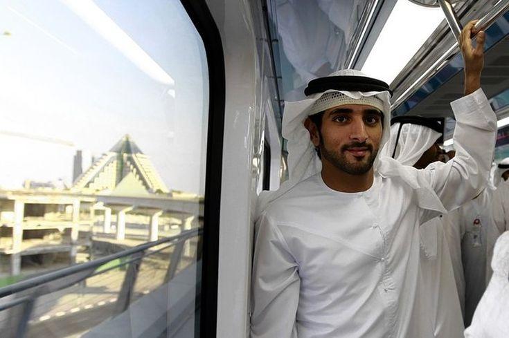 Ο Sheikh Hamdan Bin Mohammed Bin Rashid Al Maktoum των Ηνωμένων Αραβικών Εμιράτων