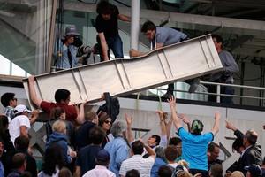 Παραλίγο τραγωδία στο Ρολάν Γκαρός