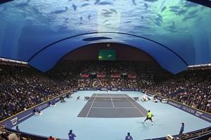 Τένις... κάτω από το νερό