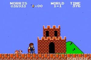 Αν ο Τσακ Νόρις έπαιρνε τη θέση του Super Mario
