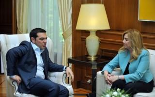Συγχαρητήρια Τσίπρα στη Γεννηματά: Ελπίζω να συμβάλλει στο διάλογο των προοδευτικών δυνάμεων