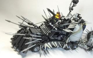 Η lego εκδοχή των οχημάτων του Mad Max