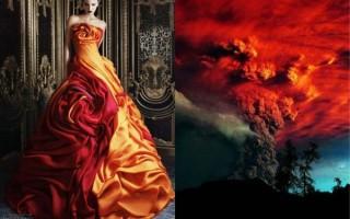 Φορέματα βγαλμένα από την φύση
