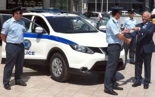 Το Nissan Qashqai στην αστυνομία